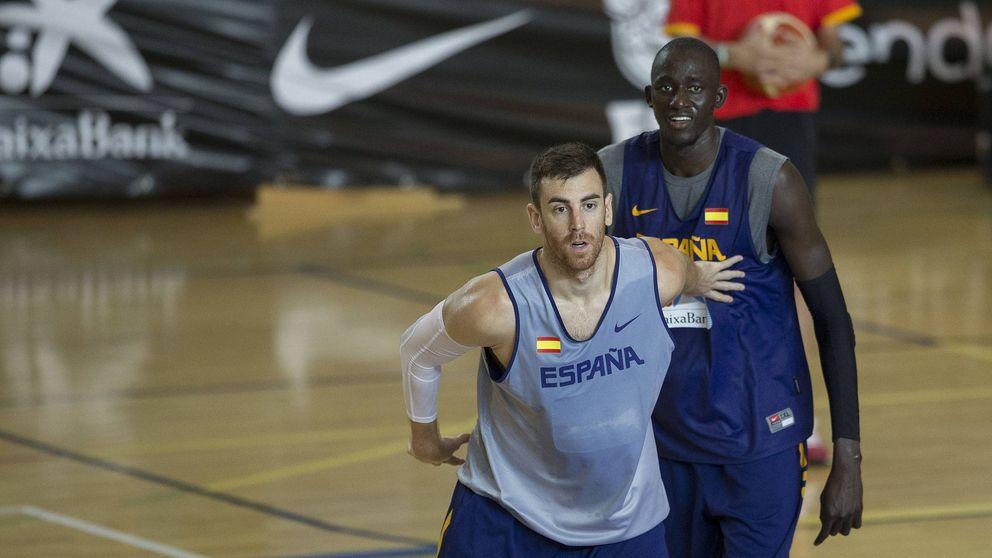 Víctor Claver: No es que de repente aprendiera a jugar en el EuroBasket