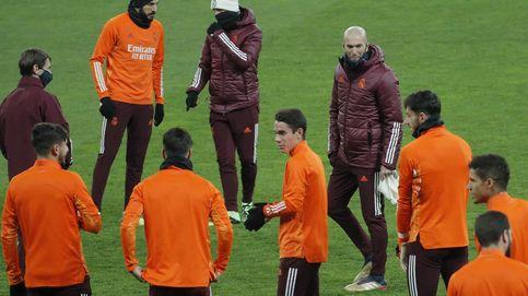 Zinédine Zidane y las dos trincheras del vestuario del Real Madrid