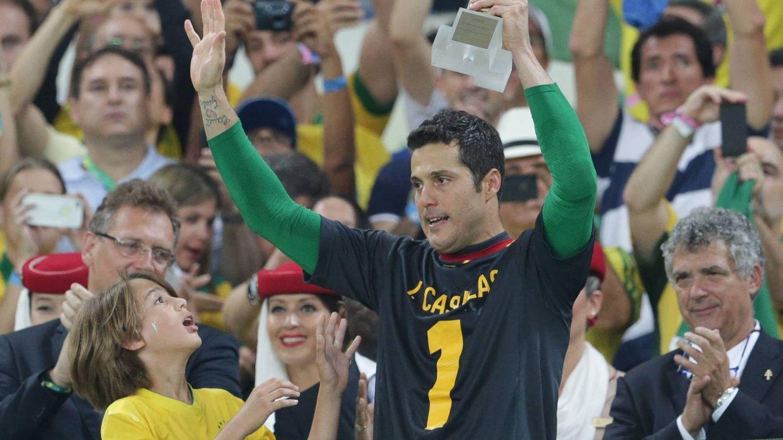 Así se mofó Mourinho de Casillas: Con una mano, tú paras más que él