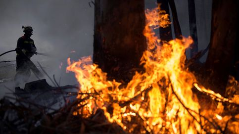 Casi 60 incendios siguen activos en Asturias y Cantabria