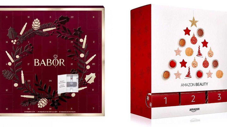 Calendarios de Adviento de Babor y Amazon Beauty.