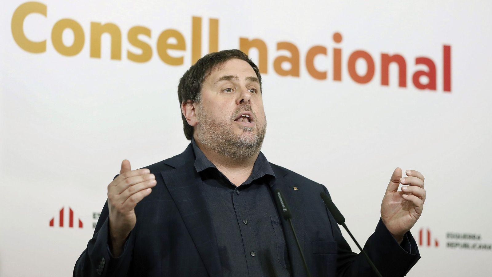 Foto: Junqueras, en una imagen de archivo. (EFE)