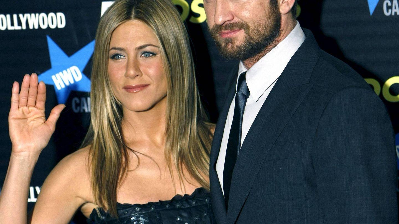 Jennifer Aniston y Gerard Butler, en una imagen de archivo. (EFE)