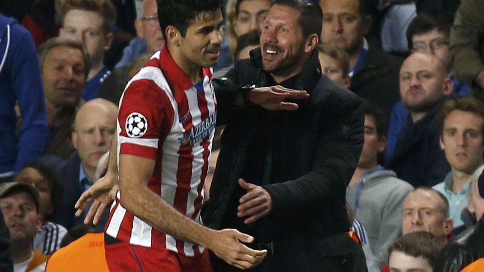 La llamada de Diego Costa a Simeone para que el Atlético no se olvide de él