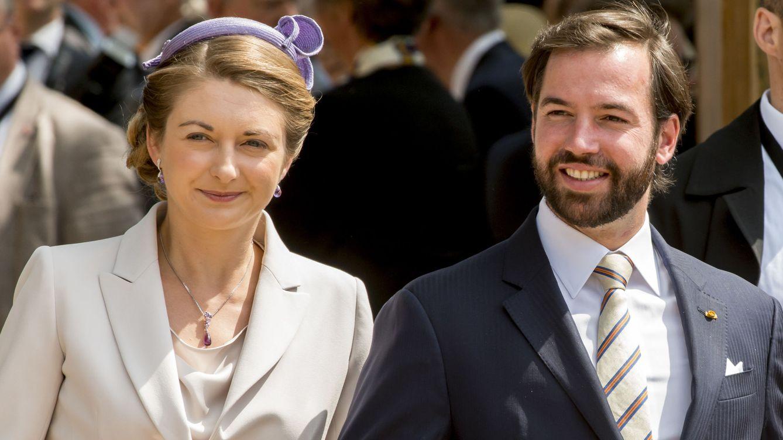 Foto: El príncipe Guillermo con la princesa Stéphanie de Luxemburgo (Gtres)