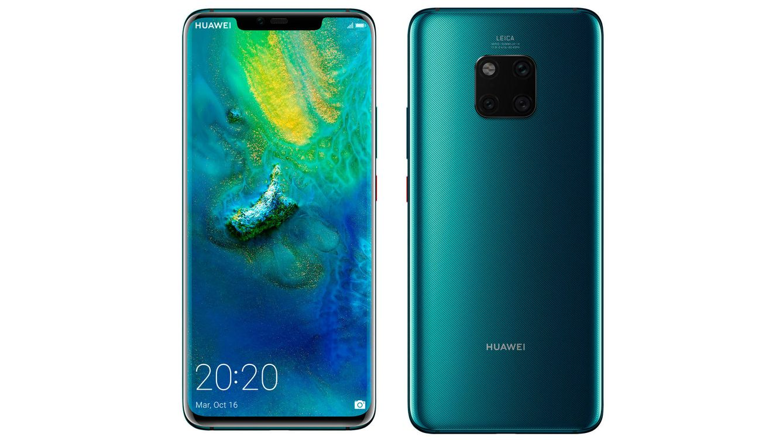 Foto: Huawei Mate 20 Pro está disponible en diferentes tonos: azul, negro y verde esmeralda (como el modelo de la imagen).