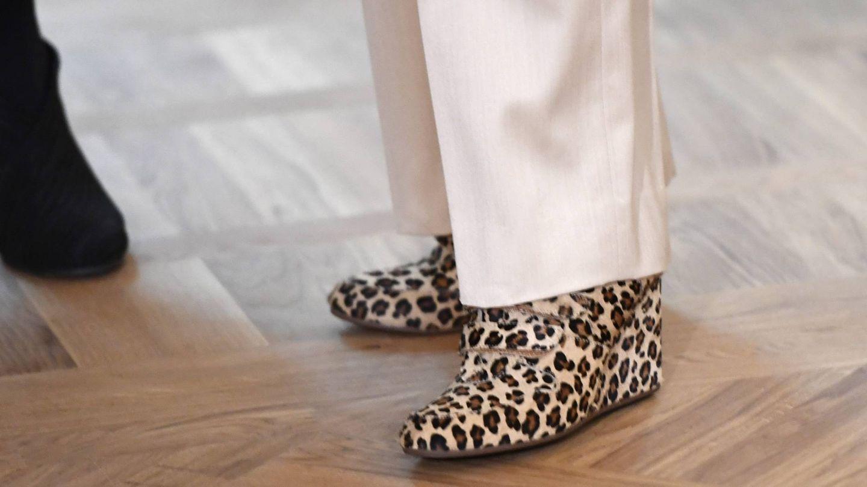 Los botines de la reina Silvia de Suecia. (Cordon Press)