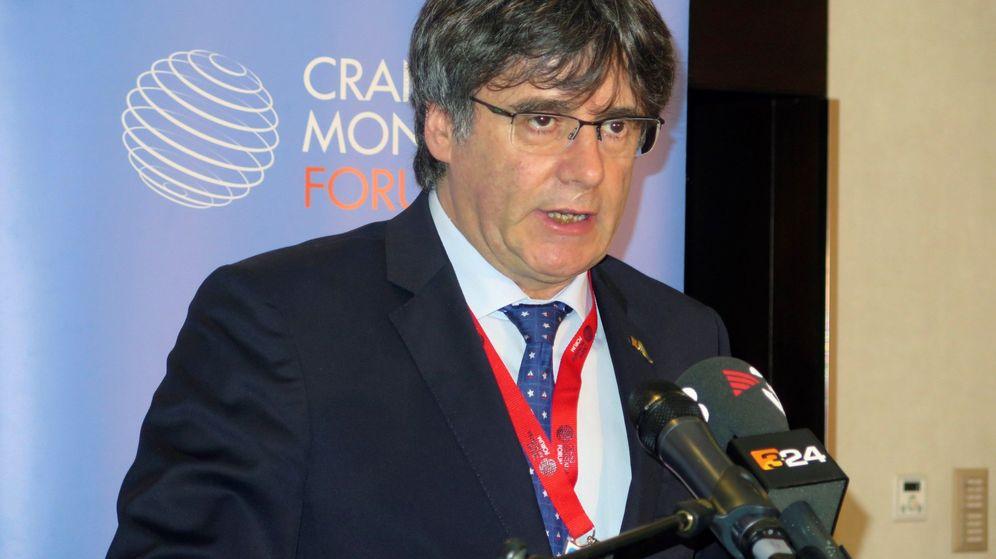 Foto: El expresidente de la Generalitat de Cataluña, Carles Puigdemont. (EFE)