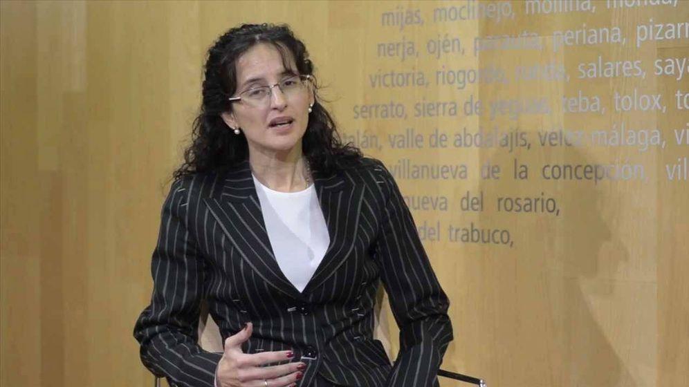 Foto: La ya exvicesecretaria de REE Concepción Ordiz. (YouTube)