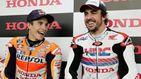 Las confesiones entre Fernando Alonso y Marc Márquez: el Dakar como plato estrella