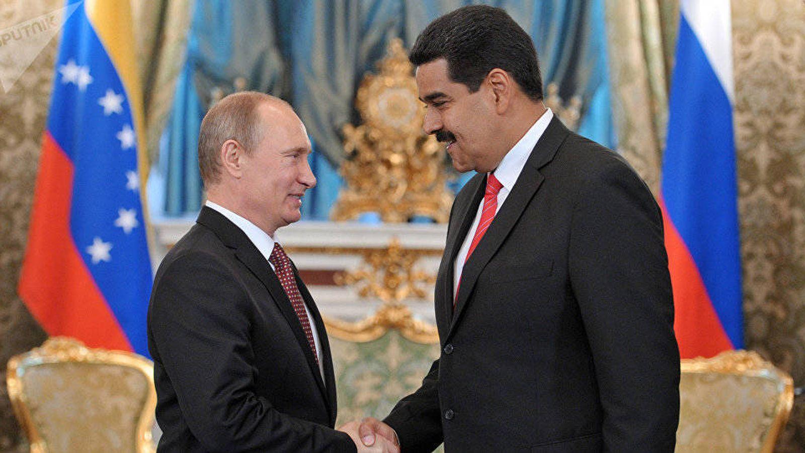 Foto: Putin y Maduro en una imagen de archivo. (Reuters)