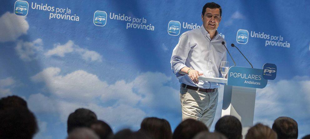 Foto: El presidente del PP andaluz, Juan Manuel Moreno. (EFE)