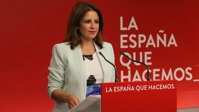 Foto:  La vicesecretaria del PSOE, Adriana Lastra. (EFE)