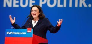 Post de Andrea Nahles, primera mujer en presidir el Partido Socialdemócrata alemán