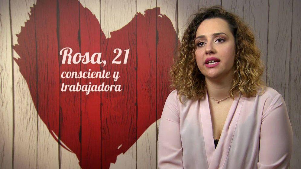 Foto: Rosa, un ejemplo de valentía en 'First Dates'. (Cuatro)