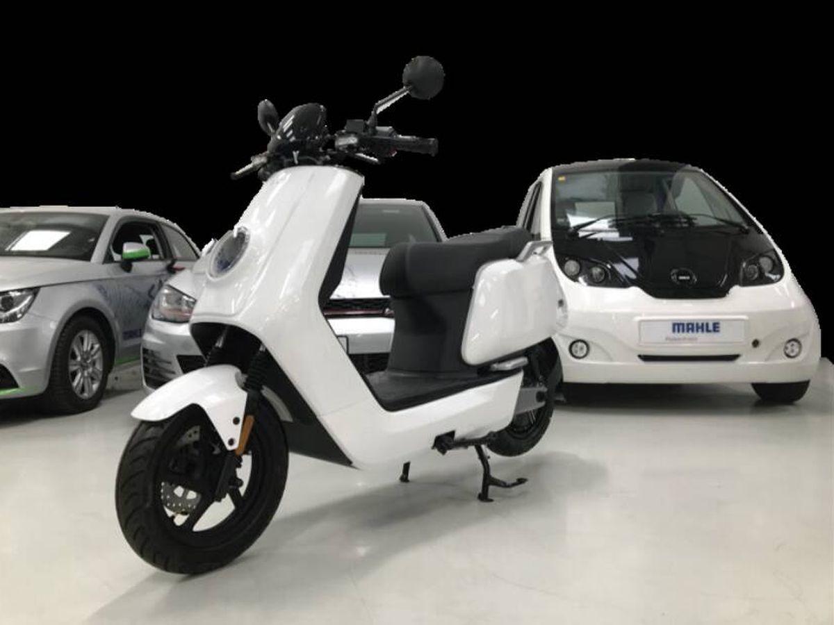 Foto: Un nueva batería que según sus creadores puede cargar una moto eléctrica en segundos. (Mahle)