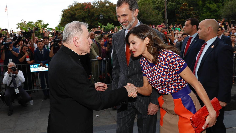 Los Reyes a su llegada a la catedral. (Casa Real)