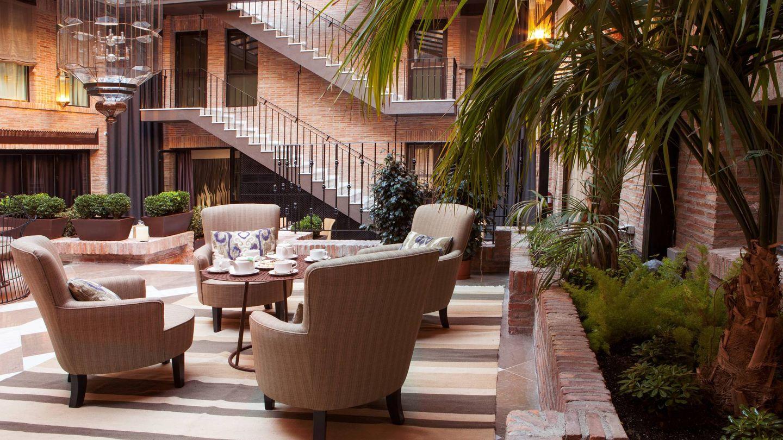 Un rinconcito del hotel Vincci Albayzín.