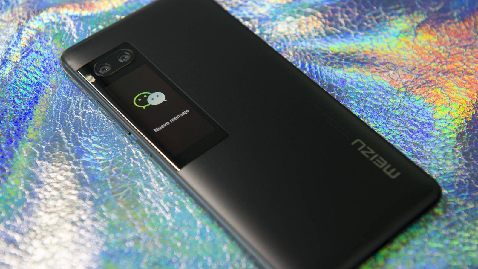 Foto: El nuevo Meizu Pro 7 (Foto: Zigor Aldama)