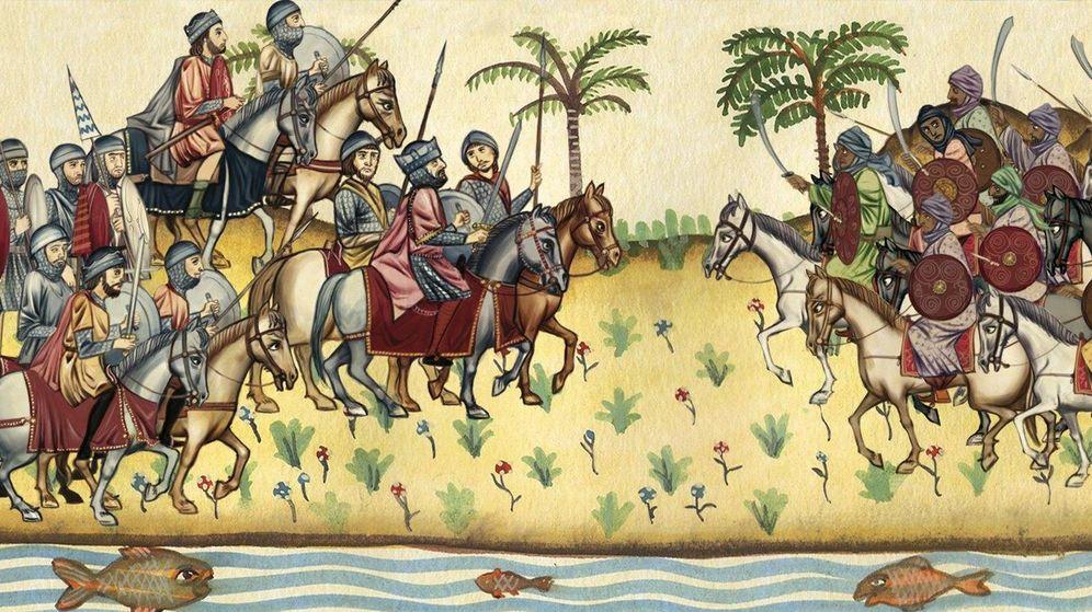 Foto: Ilustración de Omar Ibn Hafsún. (CC)
