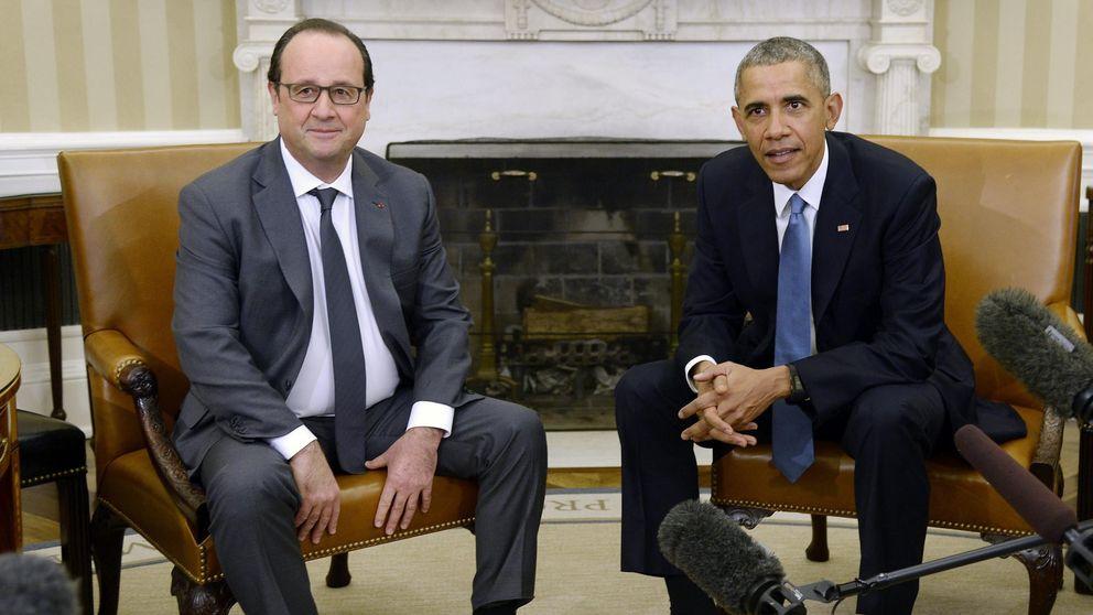 Hollande, partidario de cerrar la frontera de Turquía con Siria en su visita a Obama