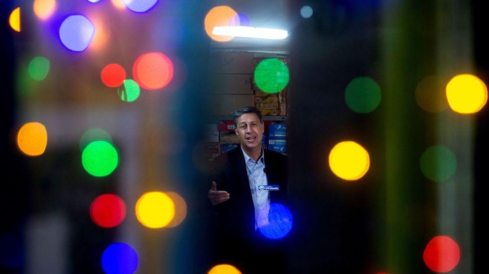 Foto: El cabeza de lista del PPC en las elecciones del 21D, Xavier García Albiol (Quique García / EFE)