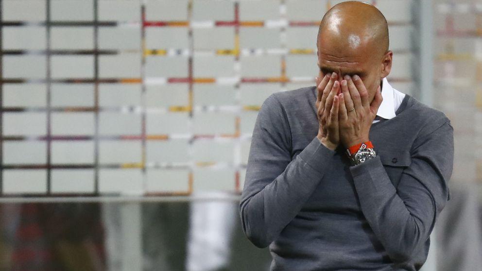 Guardiola se despide de Alemania llorando y con su segundo doblete