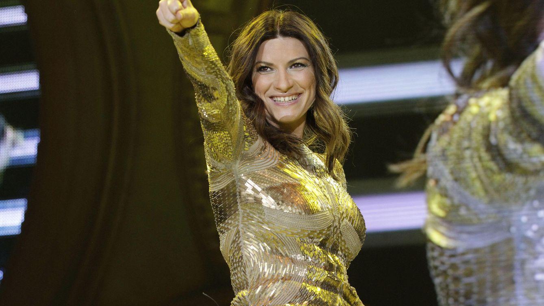 Foto: Laura Pausini en uno de sus conciertos (Gtres)