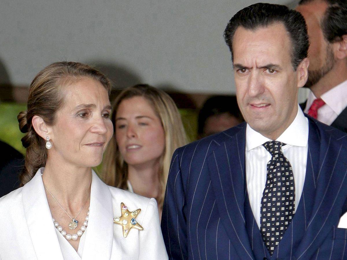 Foto: La infanta Elena y Jaime de Marichalar. (EFE)