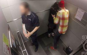 ¿Cómo actuarías si agrediesen a una chica en un ascensor?