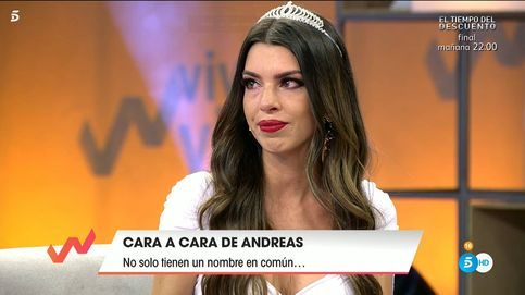 Andrea ('Tentaciones')  rompe a llorar delante de  la tentadora de Ismael