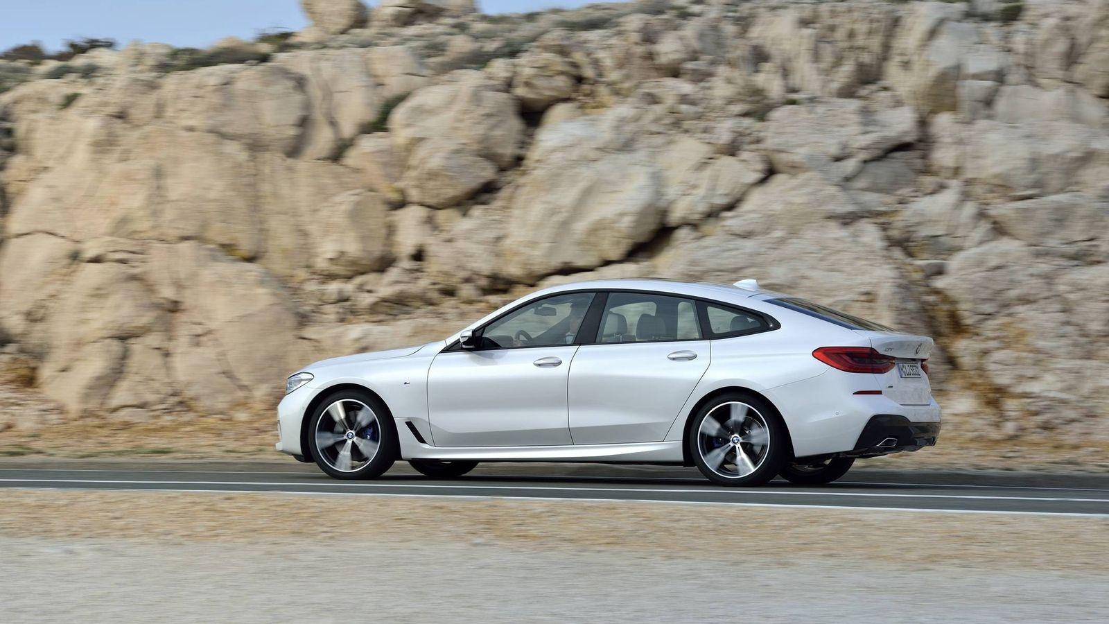 Foto: El nuevo BMW Serie 6 GT llegará al mercado en noviembre.