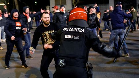 Fallece un 'ertzaina' tras los incidentes previos al Athletic-Spartak de Europa League