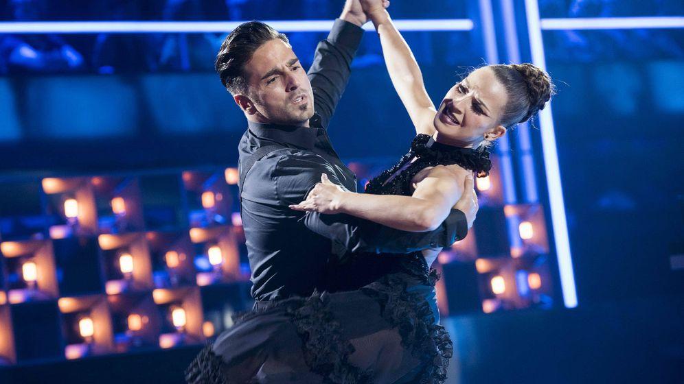 Foto: Bustamante y Yana, en 'Bailando con las estrellas'. (TVE)