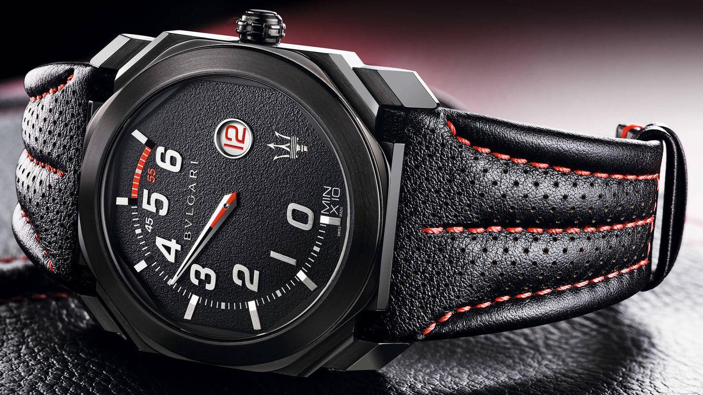 Bulgari crea una nueva edición de relojes destinados a Maserati. Con dos  estilos totalmente diferenciados f5aa1773392a