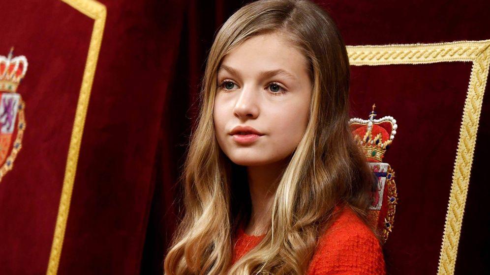 Foto: La princesa Leonor, en una imagen de archivo. (Getty Images)