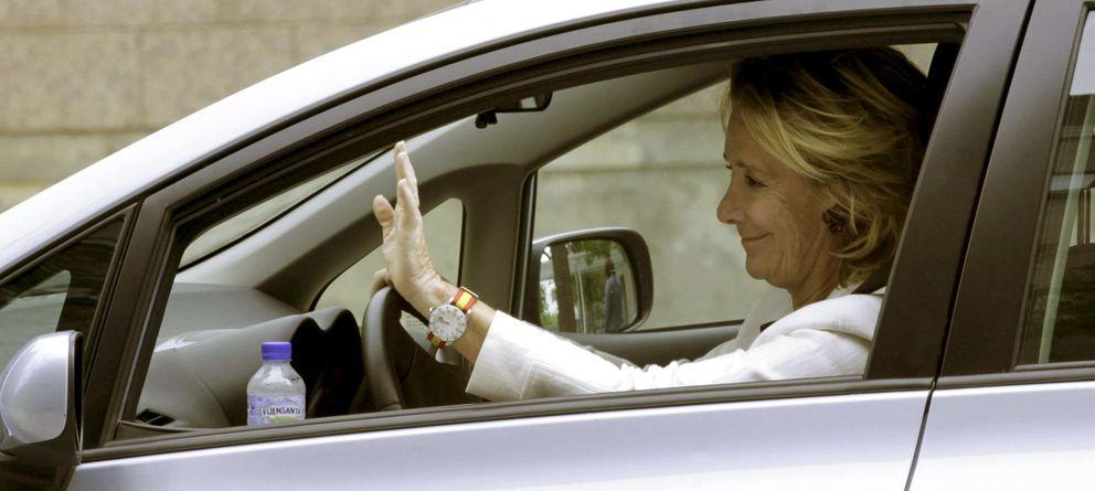 Foto: La dirigente popular Esperanza Aguirre en una imagen de archivo (EFE)