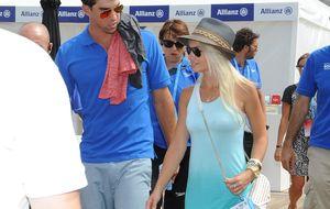 Michael Phelps, presenta a su nueva chica en Barcelona