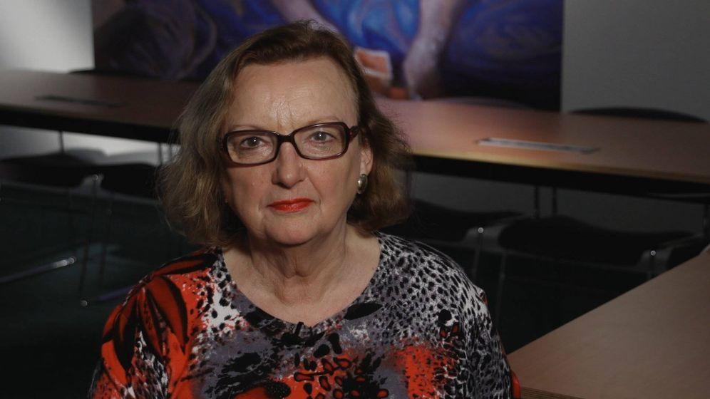 Foto: La autora de 'Medio Ambiente y Salud' durante una entrevista.