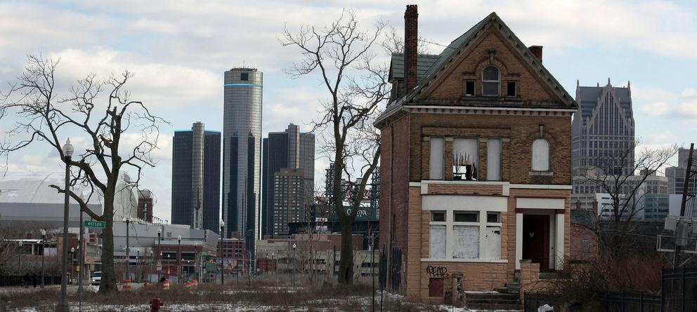 Foto: Detroit tras el apocalipsis post-industrial