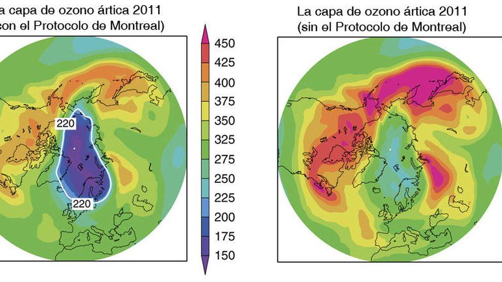 Así estaría el agujero de la capa de ozono si no hubiésemos actuado
