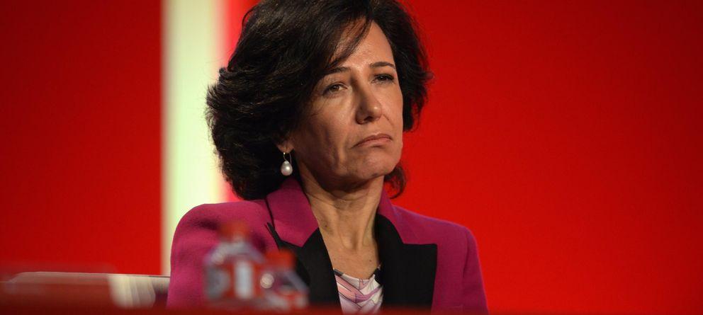 Foto: La presidente del Banco Santander, Ana Patricia Botín (Reuters)