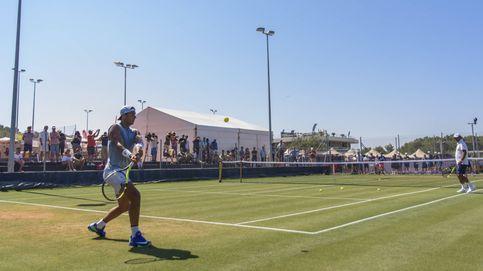 El 'jardín de casa' de Rafa Nadal donde entrena para Wimbledon