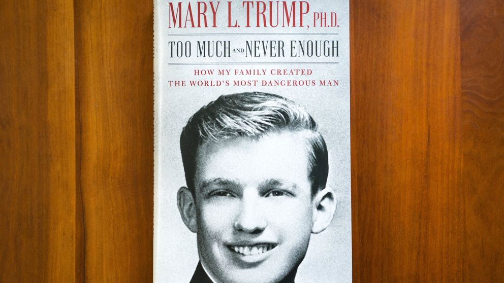 En un libro, la sobrina de Trump le describe como narcisista traumatizado por su padre