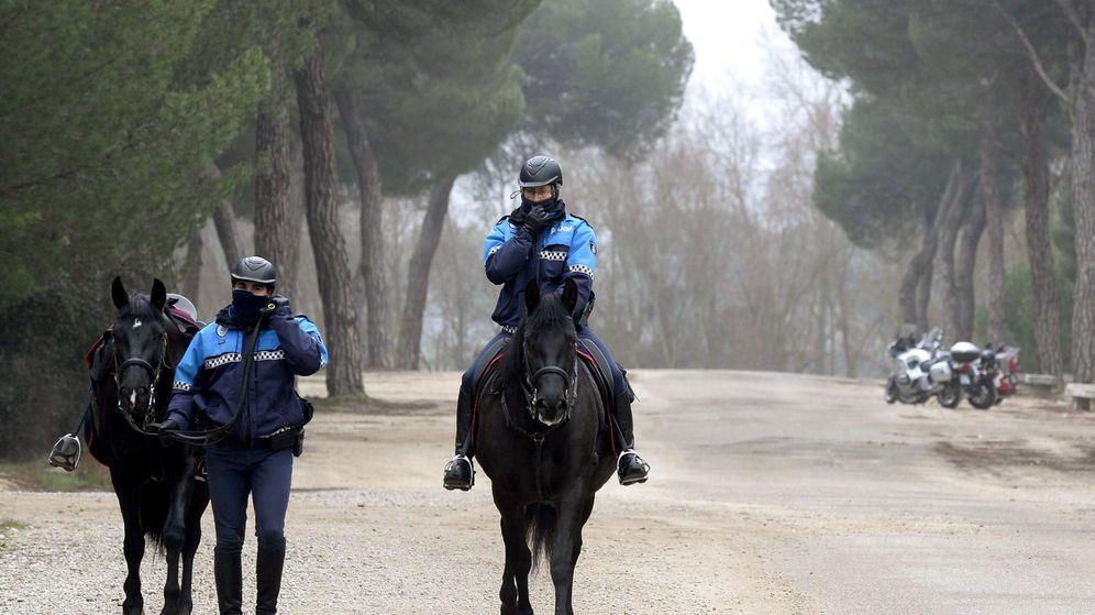 Foto: Efectivos de la Policía Municipal de Valladolid. (EFE)