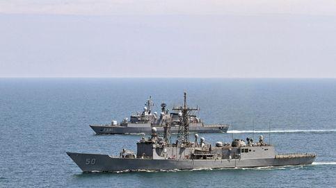 Rusia vigila de cerca buques de la OTAN (uno de ellos español) en el Mar Negro