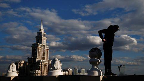 Los acróbatas urbanos de Moscú