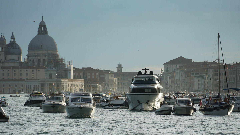 Entrada al puerto de Venecia en julio de 2021. (EFE)