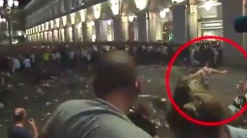 El grito es un atentado y después el pánico: petardos y avalancha en Turín