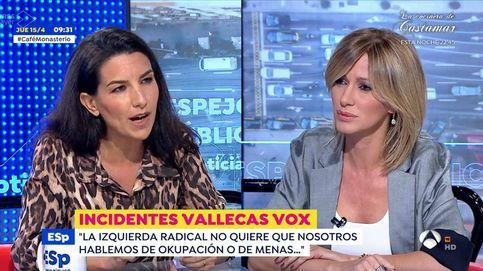 Susanna Griso y Rocío Monasterio, a la gresca por los menas en 'Espejo público'